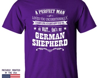 Gifts for dog lovers A perfect man German Shepherd Ttd3