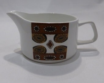 "SALE - Meakin ""Maori"" gravy / sauce boat – original from the 1960's - was GBP8, now GBP6"