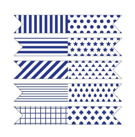 Flag Shape Gift Label Fold-Over By SweetSundayGifts On Etsy