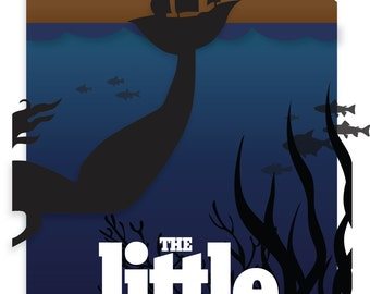 New Age Little Mermaid Poster