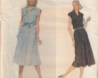 Vintage Oscar De La Renta Sewing Pattern, Dress Sewing Pattern, Vogue 1916 Uncut Sewing Pattern