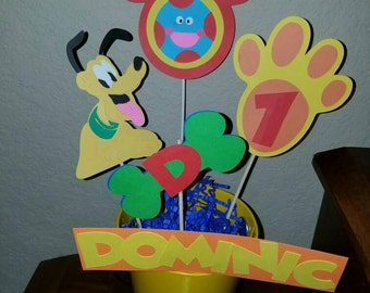 Mickey  Mouse Clubhouse Pluto Centerpiece