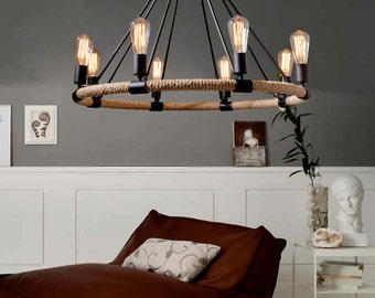 Lighting hanging,pendant lighting,hanging lamp,pendant lamp, rope lamp--PL71
