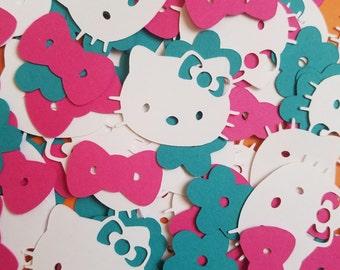 Handmade Hello Kitty Confetti