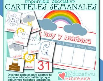 Colección de carteles semanales - gallego -