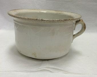 Vintage Semi Granite Bowl Made By C.C.T.P. CO Thomas Pottery