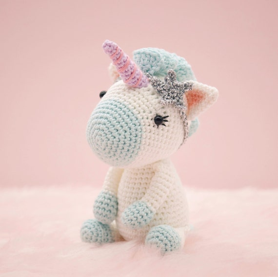Amigurumi Unicornio Gru : Amigurumi crochet cute unicorn aurora the pattern