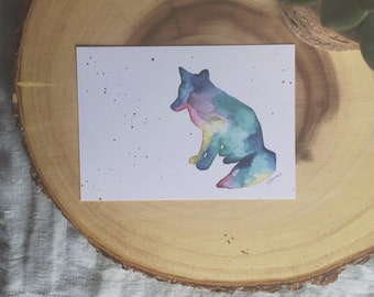 Wild Spirit Mini Art Print