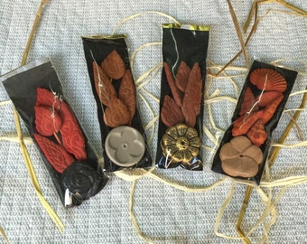 Herbal incense Aromatic incense decorative incense home fragrance (4 assorted sachets per 1 set)