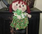 Raggedy Ann Doll - Raggedy Ann - Raggedy Ann with Frog