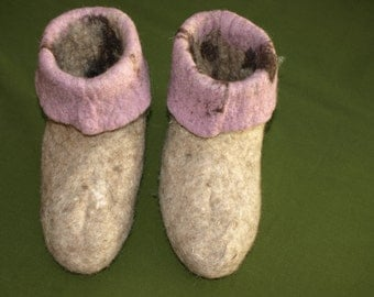 internal felt booties