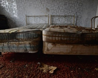decaying mattresses 8x12 print