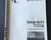Nakamichi 700MKII Factory...