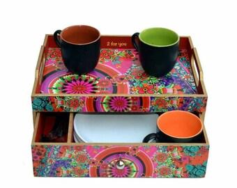 Tea and tray