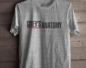 Greys Anatomy Men Tshirt tee Short sleeve