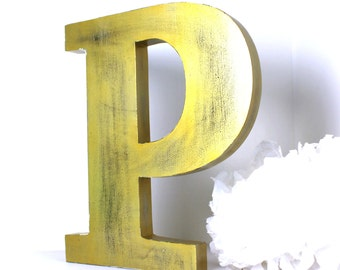 giant letter - wooden letter F  - asking letter - custom giant  letter - letter F - mylittledecor - wedding decoration - gold wedding