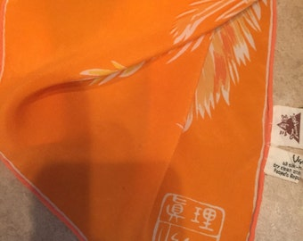 Vintage Vera Neumann Silk Scarf made in The People's Republic of China