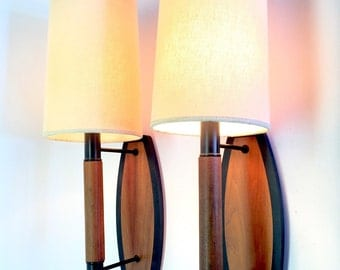 Mid Century Wall Lamps.