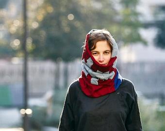 """Cowl scarf """"République"""""""