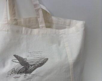 Tote Bag, Organic Tote bag, Organic Shopping Bag, Boho Bag, Market Bag, Reusable Bag, Book Bag, Organic Bag, Organic Tote