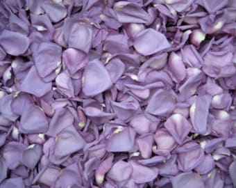 24 Cups Lavender Freeze Dried Rose Petals for Weddings- Real Rose Petals, Rose Petal Runners