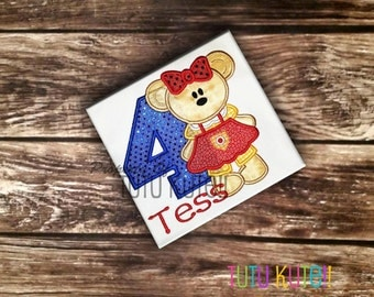 Build a Bear inspired  Shirt  FREE Personalization