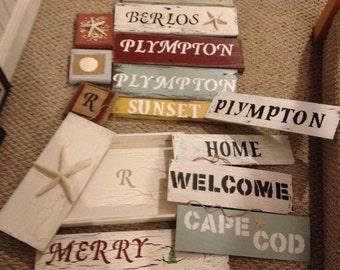 Custom Reclaimed Wood Signs