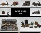 Havard special painted pack