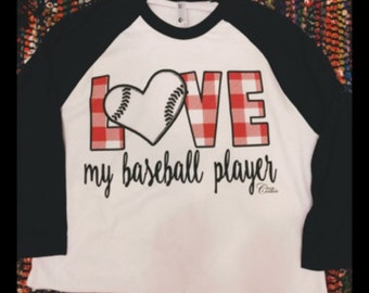 Love My Baseball Player