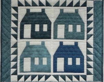 Houses Mini Quilt Kit - Rachel's of Greenfield - UK SELLER