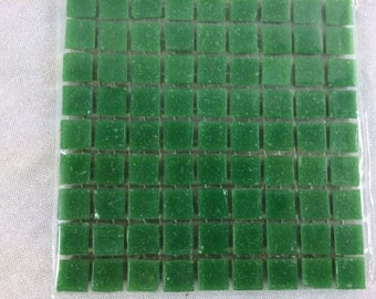 81 Dark Green Mini Mosaic Tiles 10mm Craft Mosaic Tiles Miniature Mosaic Tiles Small Mosaic Tiles Mosaic Crafts