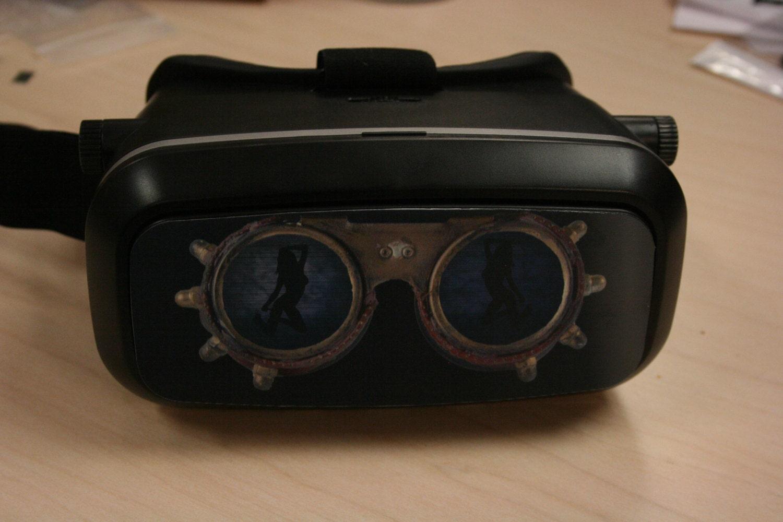 customize your virtual reality headset vr kix headset ready to make