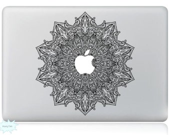 Snowflake Decal Mac Stickers Macbook Decals Macbook Stickers Apple Decal Mac Decal Stickers Laptop Decal