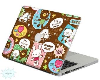 Little Bear decal mac stickers Macbook decal macbook stickers apple decal mac decal stickers