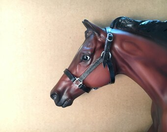 Made to Order: Traditional/Classic Sized Model Horse or Breyer Halter {Style 2}