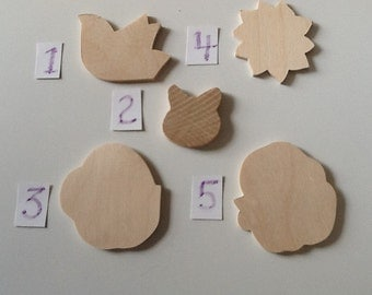 Mini Wooden Cut-outs
