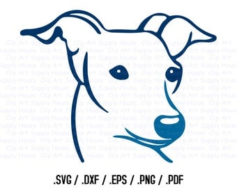 Dog SVG Clipart, SVG Office Wall Art, Pet SVG File for Vinyl Cutters, Screen Printing, Silhouette, Die Cut Machines, Cricut Design - CA281