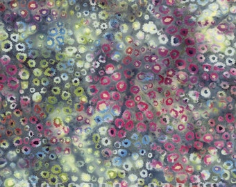 Sale! Hoffman Fabrics - Bali Batik Static Dots in Oasis  N2811-457