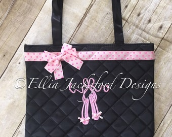 Quilted Dance Tote FREE PERSONALIZATION!!