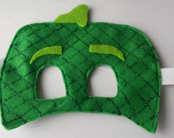 Gekko Mask. Suitable for Toddlers, Children and adults. Party favour and Party mask. Great for dress up