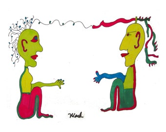 Transcendental Communication, print