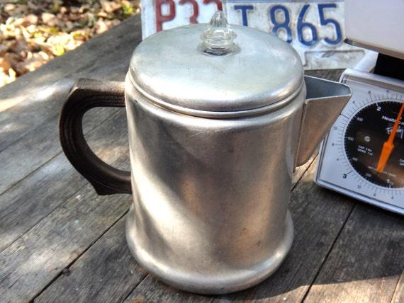 Java Perk Coffee Maker : Items similar to Percolator, 2 Quart Perk, West Bend Percolator, Aluminum Percolator, Cup of Joe ...