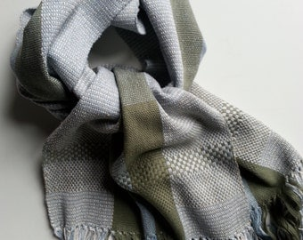 ONLY green and blue Scarf