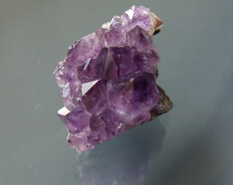 Beautiful Purple Brazilian Amethyst Crystal Cluster