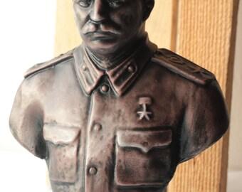 Soviet USSR Old Rare Bust of Stalin I. V. Communist Vintage ж
