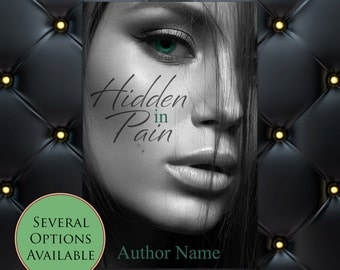 Hidden in Pain Pre-Made eBook Cover * Kindle * Ereader Cover