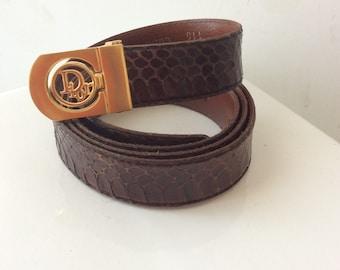 Christian Dior belt, belt vintage