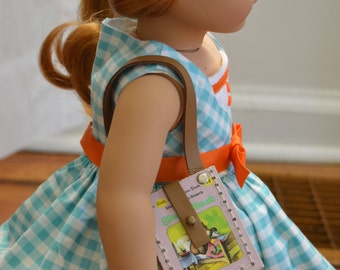 """The Sleepy Book Purse for 18"""" play dolls such as American Girl® Dolls"""