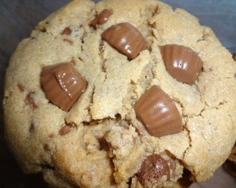 Exceptionally Yummy Homemade Reese's Cookies (18 Large Cookies)