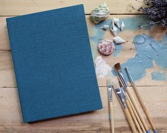 Linen Large Sketchbook - Storm
